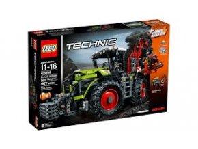 Lego TECHNIC 42054 traktor Class Xerion 500  + volná rodinná vstupenka do Muzea LEGA Tábor v hodnotě 370 Kč