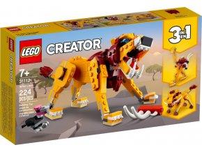 Lego Creator 31112 Divoký lev