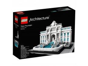 Lego Architecture 21020 Trevi Fountain  + volná rodinná vstupenka do Muzea LEGA Tábor v hodnotě 370 Kč