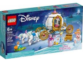 LEGO Disney 43192 Popelka a královský kočár