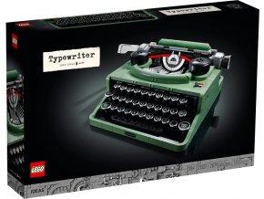 LEGO Ideas 21327 Psací stroj  + volná rodinná vstupenka do Muzea LEGA Tábor v hodnotě 370 Kč