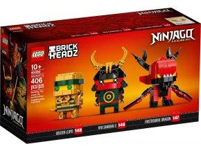 LEGO BrickHeadz 40490 NINJAGO® 10 let výročí