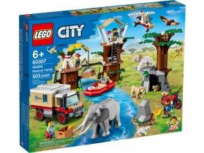 Lego City 60307 Záchranářský kemp v divočině