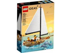 LEGO Ideas 40487 Snové prázdniny na plachetnici