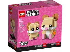 LEGO BrickHeadz 40482 Křeček