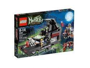 LEGO Monster Fighters 9464 Pohřební vůz upíra  + volná rodinná vstupenka do Muzea LEGA Tábor v hodnotě 370 Kč