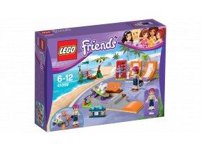 Lego FRIENDS 41099 Skatepark v městečku Heartlake