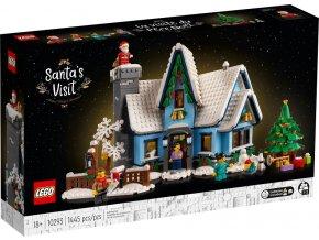LEGO Creator Expert 10293 Santova návštěva  + volná rodinná vstupenka do Muzea LEGA Tábor v hodnotě 370 Kč