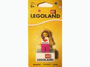 LEGO 851331 Magnet Set, Minifigure I Brick LEGOLAND Female