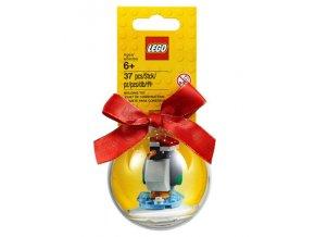 LEGO 853796 Vánoční ozdoba - Tučňák