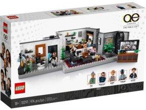 "LEGO 10291 Queer tým – byt ""Úžo Pětky"""