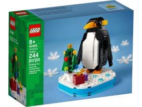 LEGO 40498 Vánoční tučňák