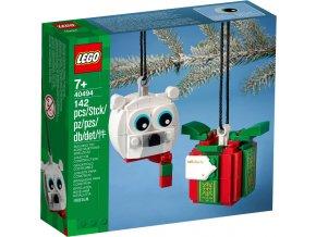 LEGO 40494 Dárková sada s ledním medvědem