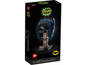 Lego Super Heroes 76238 Batmanova maska z klasického TV seriálu