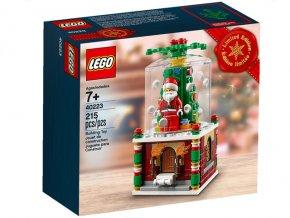 LEGO 40223 Christmas Snowglobe
