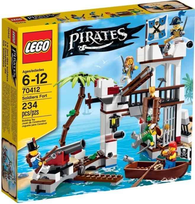 LEGO Piráti 70412 Vojenská pevnost