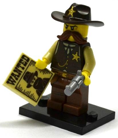 LEGO 71008 minifigurky 13. série - 02. Šerif