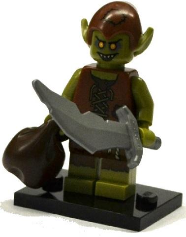 LEGO 71008 minifigurky 13. série - 05. Goblin