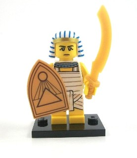 LEGO 71008 minifigurky 13. série - 08. Egyptský bojovník