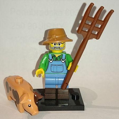 LEGO 71011 minifigurky 15. série - 01. Farmář