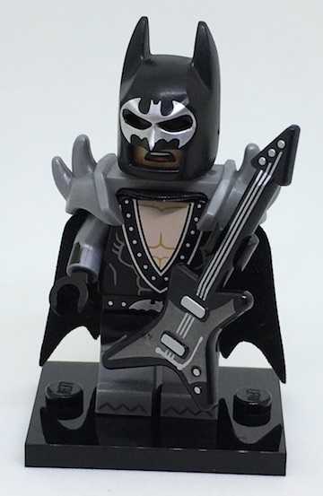 LEGO 71017 minifigurky The LEGO BATMAN Movie - 02. Glam Metal Batman
