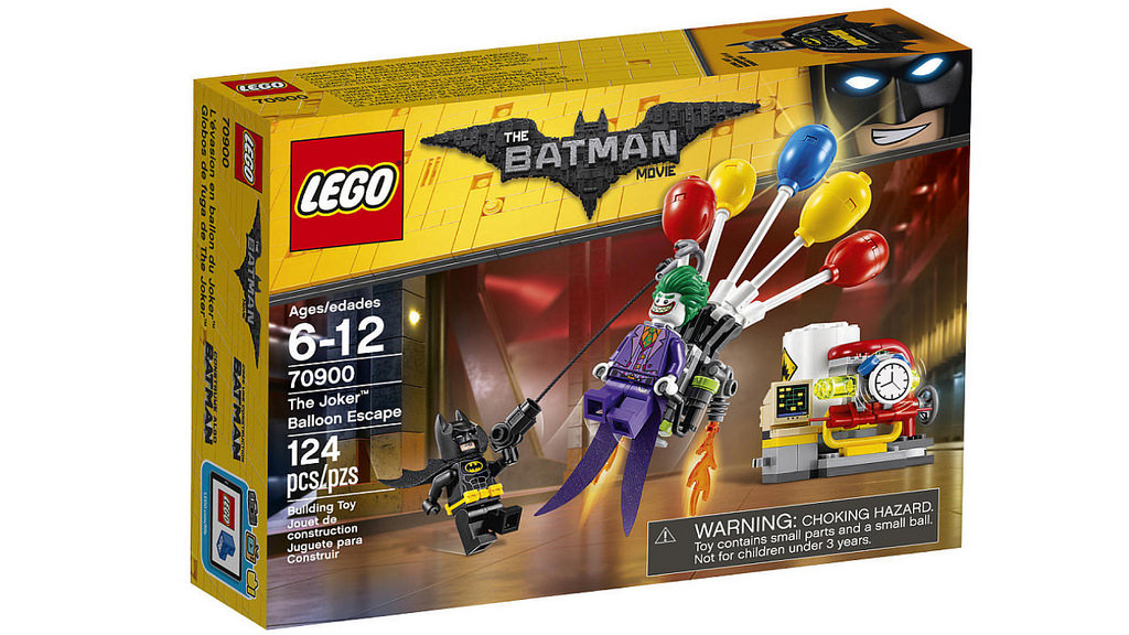LEGO Batman Movie 70900 Jokerův útěk v balónu