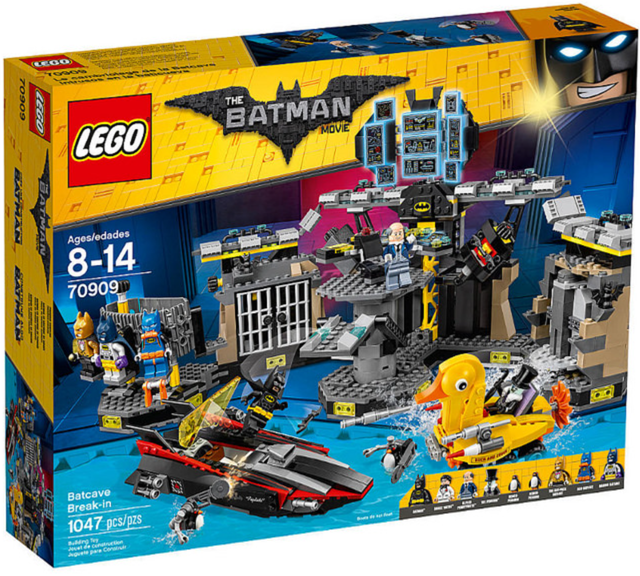 LEGO Batman Movie 70909 Vloupání do Batcave