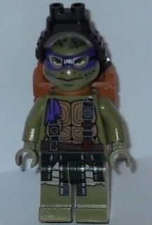 LEGO Teenage Mutant Ninja Turtles - Donatello With Goggles and Pack