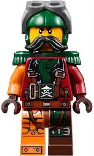 LEGO Ninjago - Flintlocke - Epaulettes