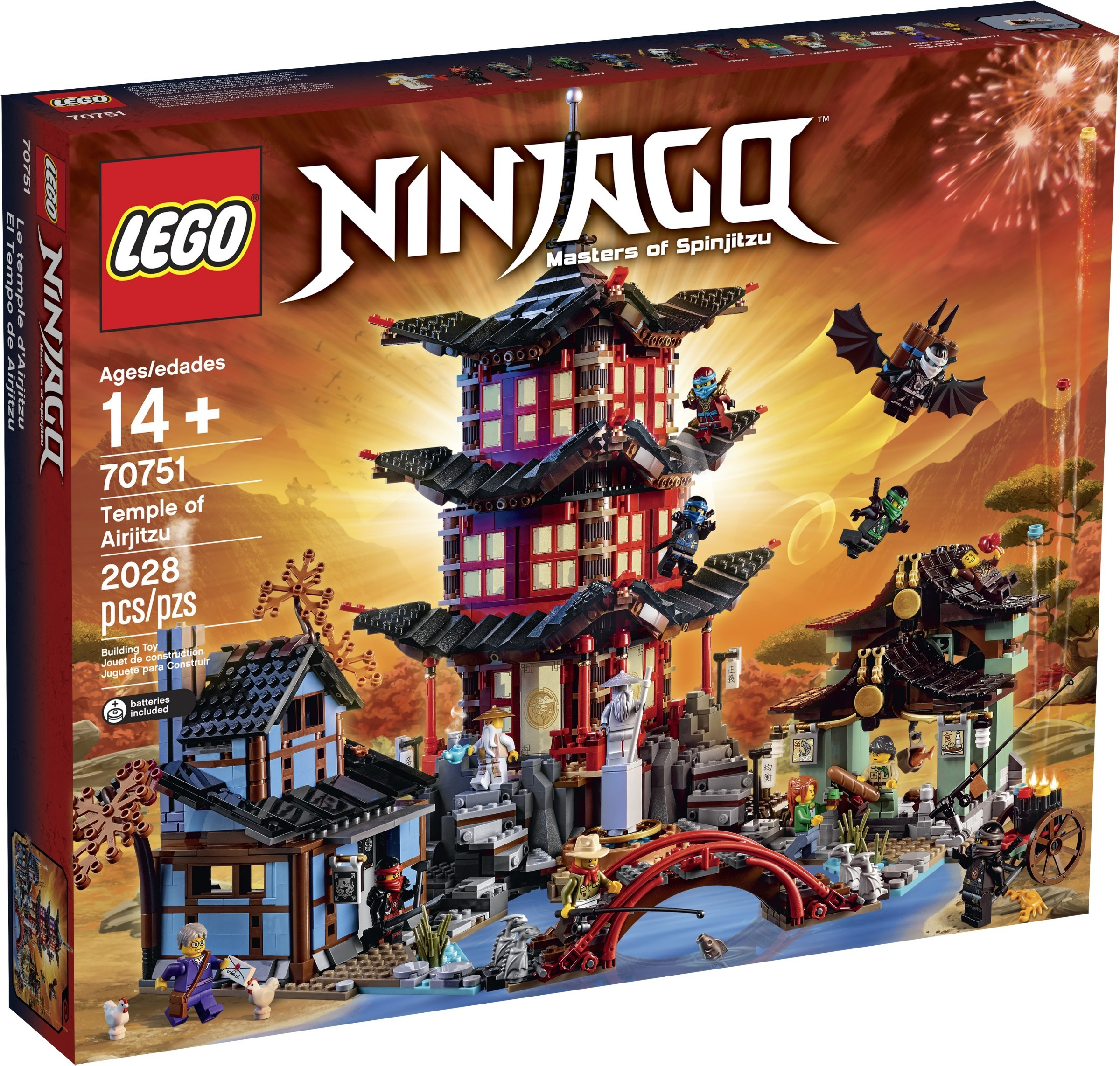 LEGO Ninjago 70751 Temple of Airjitzu