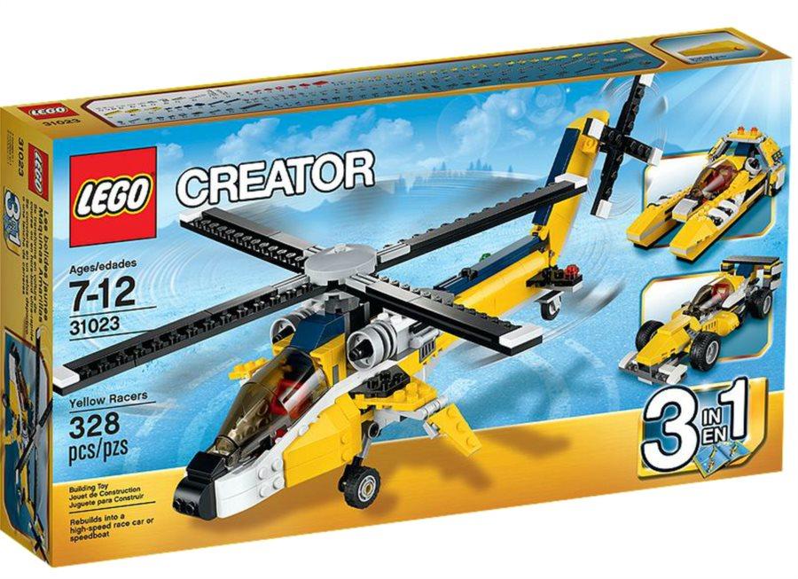 Lego Creator 31023 Žlutí jezdci