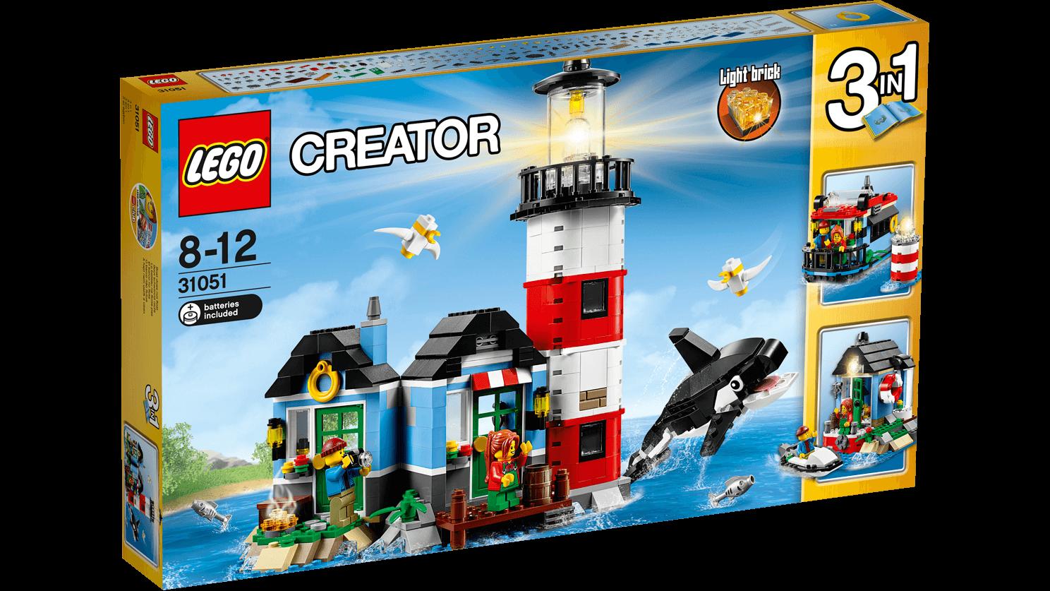 Lego Creator 31051 Maják na ostrově