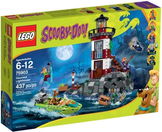 LEGO Scooby Doo 75903 Strašidelný maják