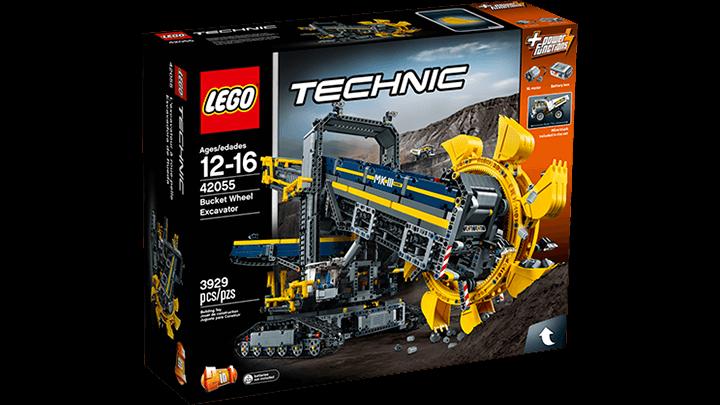 Lego TECHNIC 42055 důlní rypadlo