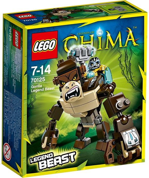 Lego Chima 70125 Gorila Šelma Legendy