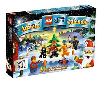 LEGO City 7687 Adventní kalendář