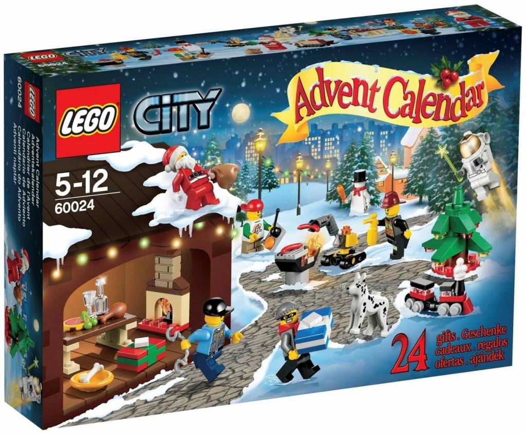 LEGO City 60024 Adventní kalendář