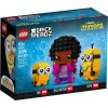 LEGO BrickHeadz 40421 Belle Bottom, Kevin a Bob