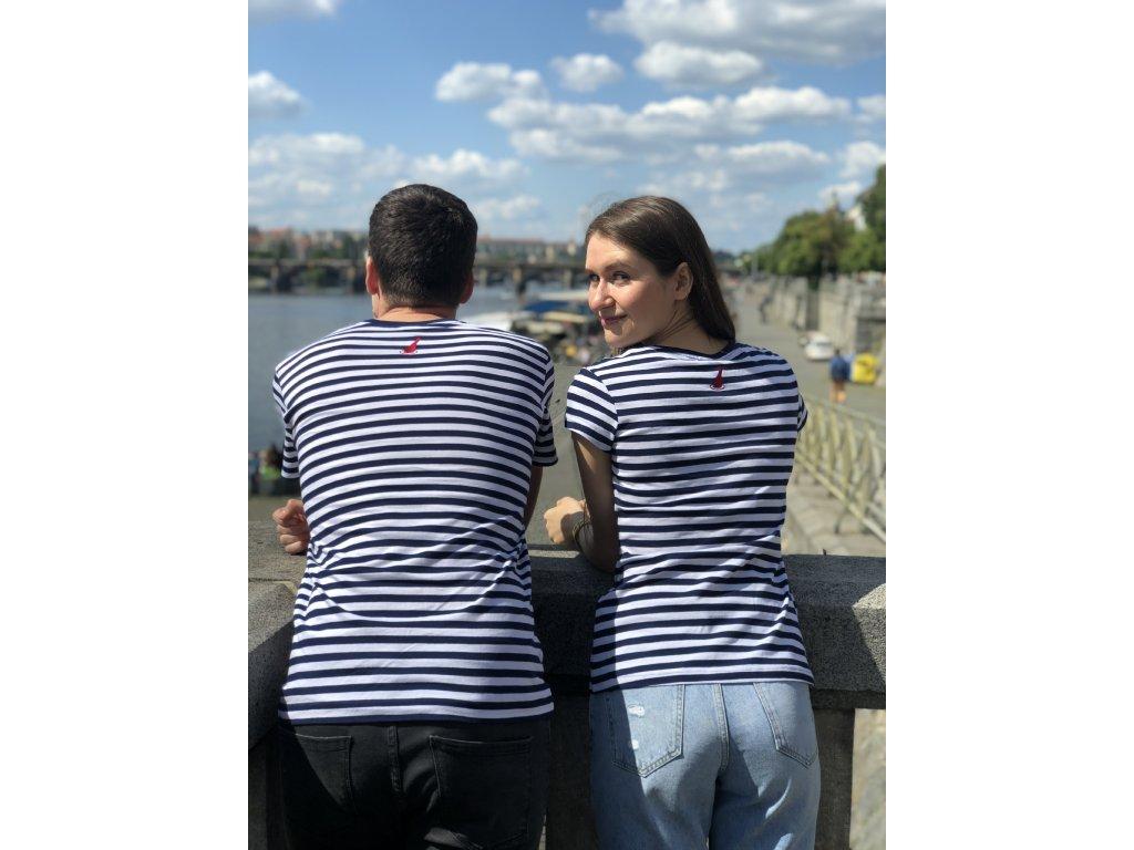 Tričko #chodímsrhônou dámské