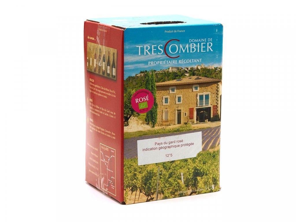 Domaine de Trescombier IGP Rosé (BIB 5L) 033