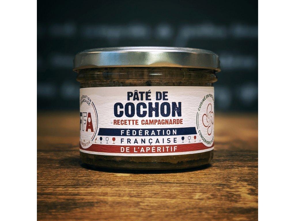 PÂTÉ DE COCHON – RECETTE CAMPAGNARDE paštika vepřová