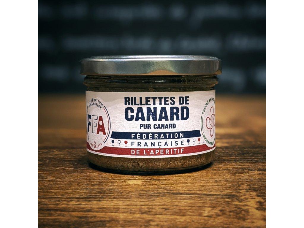 RILLETTES DE CANARD – 100% PUR CANARD kachní