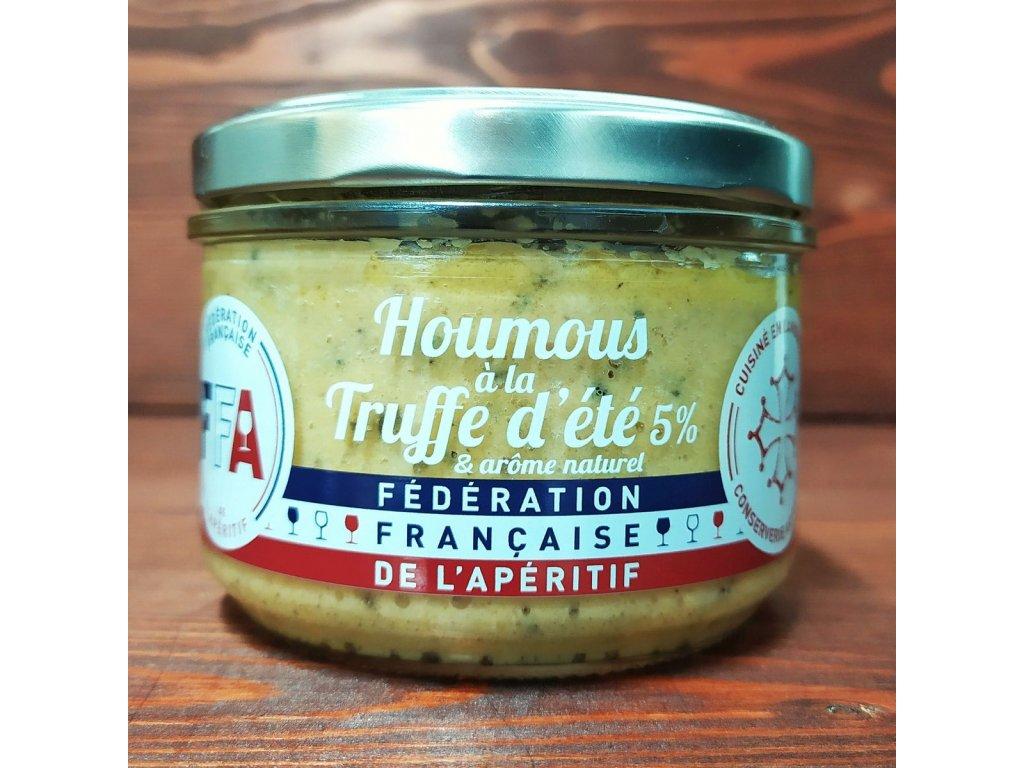 Lanýžový hummus (5% lanýžů) 200 g  HOUMOUS À LA TRUFFE D'ÉTÉ 5%