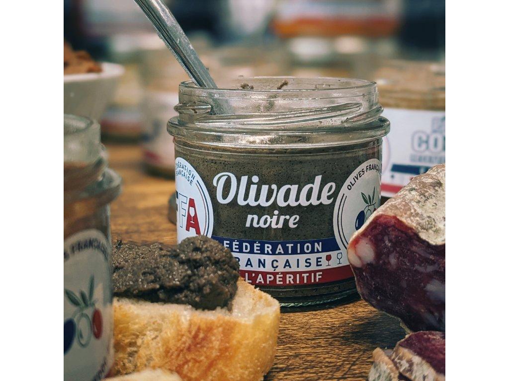 OLIVADE NOIRE olivová tapenáda (černé olivy)