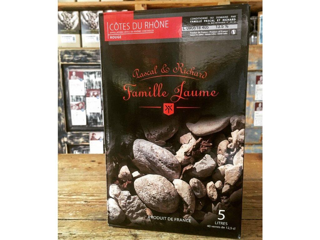Domaine Jaume Côtes du Rhône Rouge (BiB 5L) 014 bag-in-box červené víno