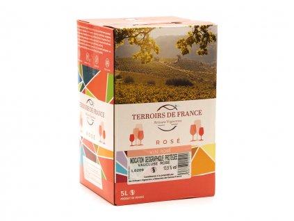 Rhonéa IGP Vaucluse Rosé (BiB 5L) 002 bag-in-box růžové víno