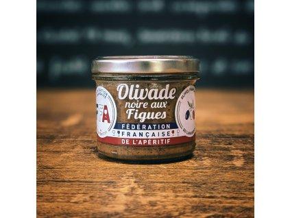 OLIVADE NOIRE AUX FIGUES olivová tapenáda s fíkama