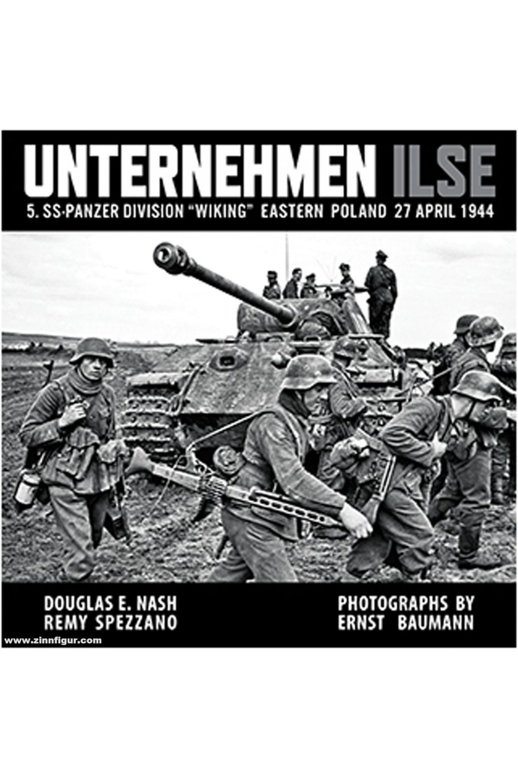 "Unternehmen Ilse - 5. SS-Panzer Division ""Wiking"". Eastern Poland 27 April 1944"