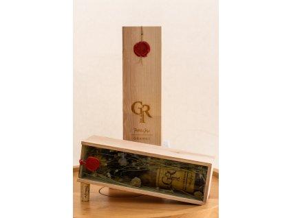 Chardonnay GR orange No.4 2015 v unikátním boxu