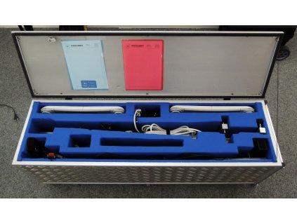 Hliníkový přepravní kufr/box
